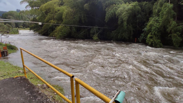 Se crecieron varios ríos en el Quindío