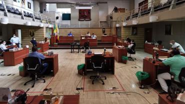 Sin proyectos presentados por la administración, inician ordinarias del concejo de Armenia