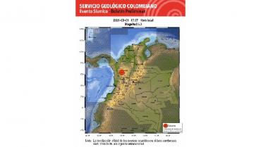 Sin emergencias en el Quindío por sismo de este lunes