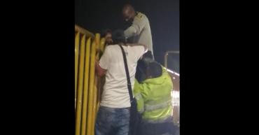 Policía impidió que mujer saltara del puente La Florida