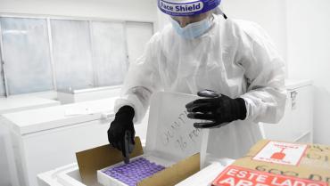 De la firma Sinovac llegaron 13.719 nuevas vacunas al Quindío