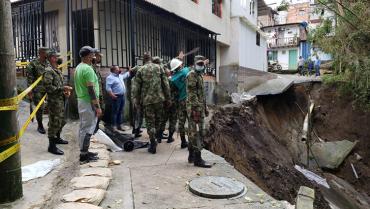 Redes de acueducto en Montenegro y Circasia se recuperan tras estragos por las lluvias