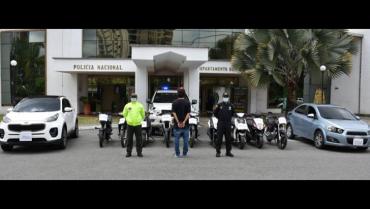 11 vehículos hurtados fueron recuperados por la Policía Quindío