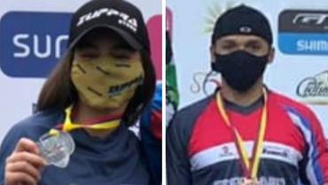 3 medallas para Quindío en BMX