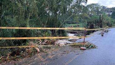 Por alto riesgo, alcaldía de Calarcá pidió no utilizar el puente de La Sonadora