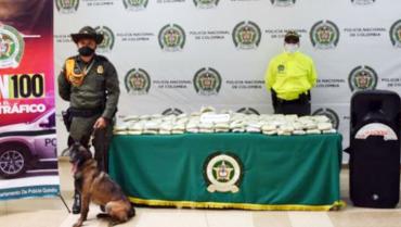 Hallaron 30 kilos de marihuana en 2 bafles que serían enviados como encomienda
