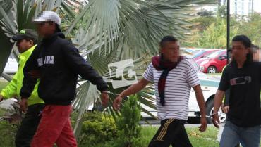 Sijíncapturó a 4 personas señaladas de hurtar establecimientos comerciales