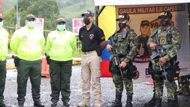 Más de 800 uniformados garantizarán la seguridad en Semana Santa