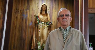 """La procesión va por dentro""""Siento una frustración muy grande al no poder cargar a la Dolorosa"""": César Maya"""