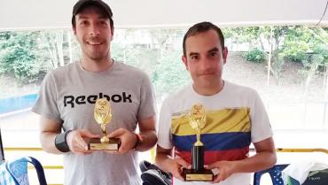 Torneo Medalla Mensual de tenis ya tiene campeones