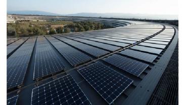 Proveedores de Apple usarán energía renovable para convertirla en CO2 neutra