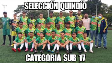 Un empate y una victoria acumula la Selección Quindío sub-17 en el  Campeonato Nacional Interligas