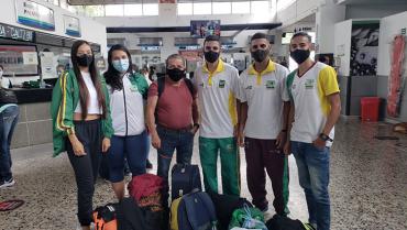 7 atletas quindianos participaron en Campeonato Nacional de Clubes y Municipios