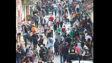 Capacidad de carga en Salento, entre mirador y centro histórico, es de 4.871 personas