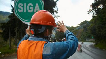 Por estabilización, vía Calarcá-Cajamarca cerrada de noche hasta el 10 de junio