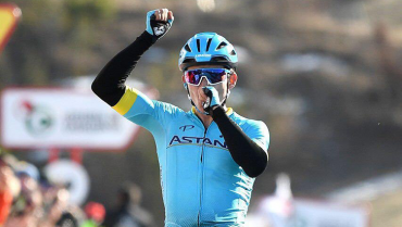 """La regularidad, el secreto de """"Supermán"""" López para estar en podio del Tour"""
