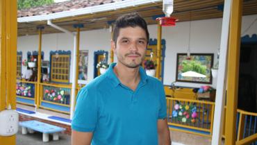 El músico que 'cocina' estrategias para promover la gastronomía de la región