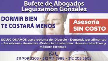 Bufete de Abogados Leguizamón González ofrece una amplia gama de servicios