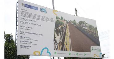 Por la falta de combustible y bloqueos en las vías, nuevo atraso en obra puente de Los Quindos