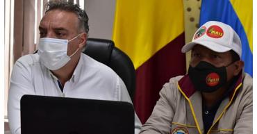 Gobernación confirmó que minga indígena suspende protesta en Versalles