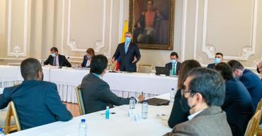 No hubo acuerdos entre el presidente y Comité Nacional del Paro