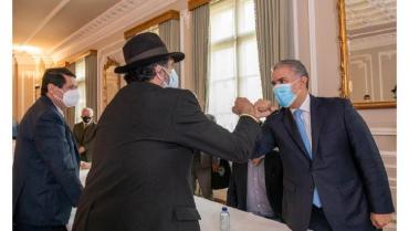 La reunión de Duque con el Comité Nacional de Paro termina sin acuerdos