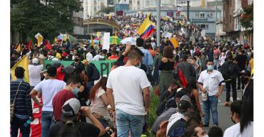 Sin acuerdos con el gobierno, comité nacional de paro convoca a movilización el 12 de mayo