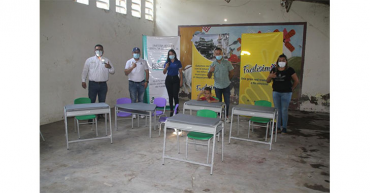 25 sedes educativas fueron beneficiadas, con proyecto de la empresa Facilísimo