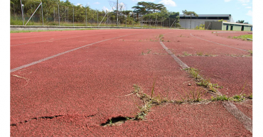 Estadio de atletismo, sin inversión