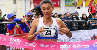 María Fernanda Montoya Marín, participará en el Suramericano de Mayores