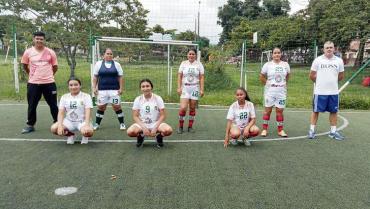 Torneo femenino en Quintas de los Andes