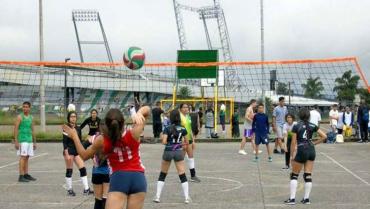 Convocatoria para torneo de voleibol en el barrio Zuldemayda