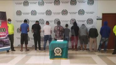 En Armenia, las autoridades capturaron a 8 integrantes de la banda Los Invasores II