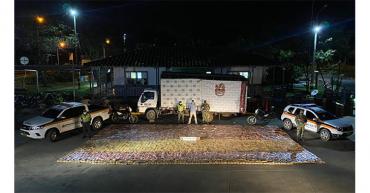 Autoridades incautan 1.682 kilos de marihuana en La Línea