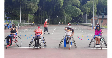 Luis Fredy Téllez, nuevo técnico de Selección Quindío de tenis en silla de ruedas