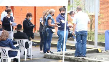 En Armenia, la vacunación contra la Covid-19 no para