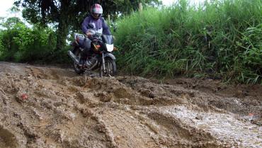 Habitantes de La Concha y Membrillal solicitaron mejora de vía terciaria