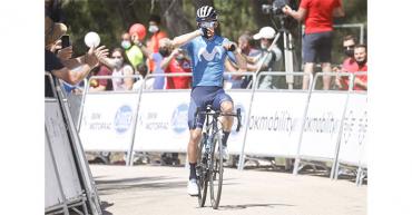 """Supermán"""" López:""""Salimos del Dauphiné con ilusión para el Tour"""