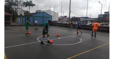 Selección Quindío de fútbol sonoro inició entrenamientos
