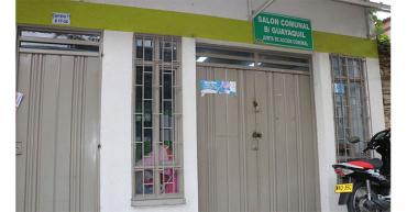 Ya son 4 los robos al salón comunal del barrio Guayaquil