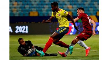 Colombia quiso, Fariñez no dejó y Venezuela deja primer empate sin goles
