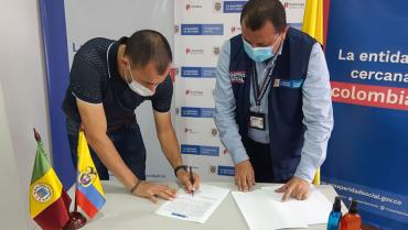 Montenegro y Quimbaya acordaron obras viales con el DPS