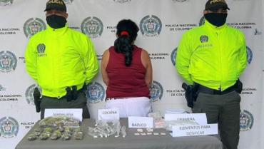 Alias 'Forever' y una mujer, aprehendidos en Quimbaya con sustancias ilegales