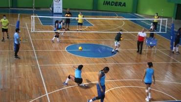 Selección nacional femenina de voleibol entrena en Armenia con miras al mundial de 2022