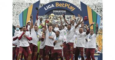 Doblete de Caicedo y Tolima es campeón en Colombia sobre Millonarios