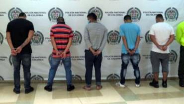 Judicializados presuntos ladrones 'motorizados' de joyas