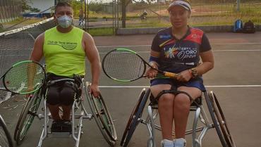Tres quindianos, a un paso del Mundial de Tenis en Silla de Ruedas