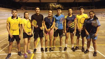 Badmintonistas, a primera válida nacional, en Zipaquirá