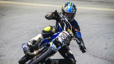 Quindiano se batió en nacional  de motovelocidad y fue segundo