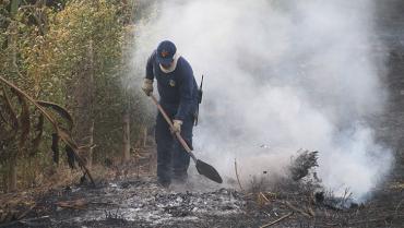 En el Quindío, 6 municipios están en alerta naranja por incendios forestales